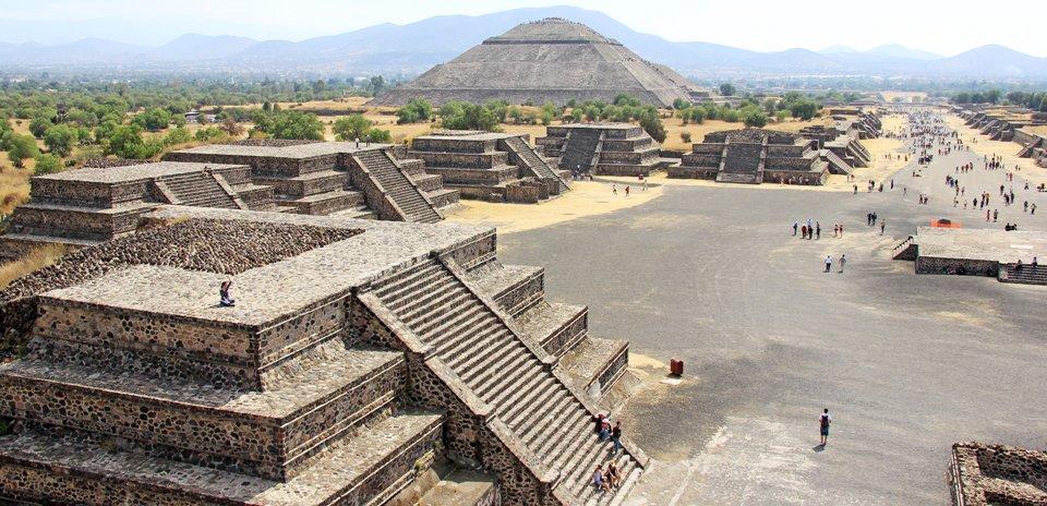 Mexique Temples